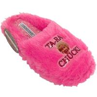 View Item LADIES PINK FLUFFY CORONATION STREET VERA DUCKWORTH NOVELTY SLIPPERS SIZE 3-8